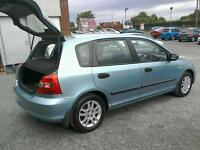 03 Honda Civic 5 door One owner Full service history ( can be viewed inside anytime)