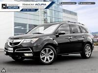 2012 Acura MDX ELITE - ONE OWNER - NO ACCIDENTS - WELL SERVICED