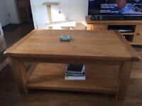 Matching Wooden Coffee table, T.V unit and side unit for sale