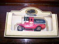 Diecast boxed vintage cars