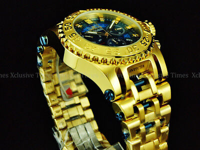 f9f187452 NEW Invicta 52mm Men's LE GOLD OUT JASON TAYLOR CHAOS Ronda Chronograph SS  Watch