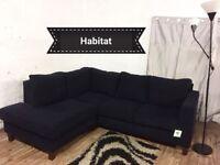 New habitat corner sofa**Free delivery**