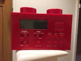 LEGO Alarm Clock Radio