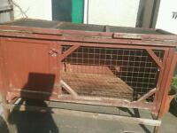 For sale, Rabbit Hutches x2