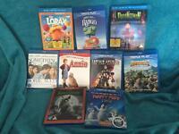 Blu-Ray & 3d DVDs