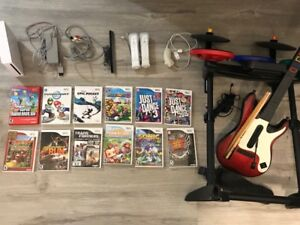 Nintendo Wii collection lot