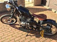 Suzuki gn 250cc bobber hardtail sell or swap car