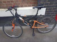 Bike GBP 20.00 + D-lock GBP 5.00 = GBP 25.00