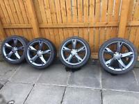 Audi A5 speedline alloy wheels 19inch