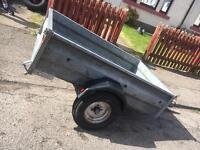 Galvanised 5/3 trailer