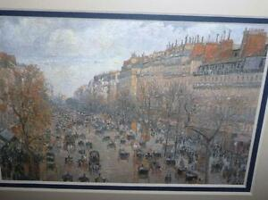 "Camille Pissarro ""Boulevard Montmartre"" 1897 Art Print/Matted London Ontario image 7"