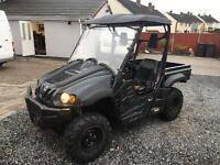 Farr 700cc utility buggy mule farm quad road legal 2011