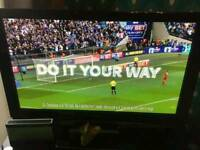 "Panasonic 42"" HD TV with freeview"