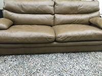 Luxury Leather G Plan Sofa. Retails at £2226! A real Bargain!