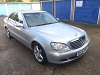 2005 (55) MERCEDES-BENZ S320 CDI AUTOMATIC LIMOUSINE, Exchange, Car Swap Considered