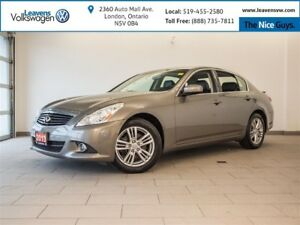 2013 Infiniti G37X PREMIUM+AWD+LEATHER+SUNROOF+BACK UP CAM