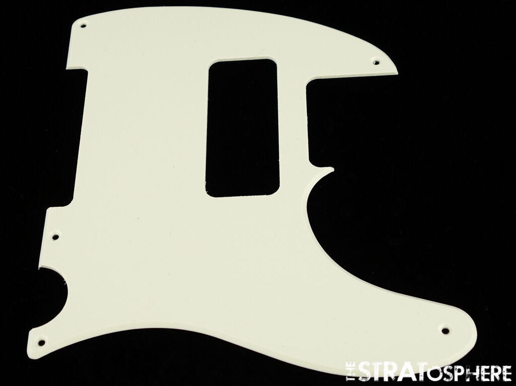 1-Ply Pickguard For Fender Tele NEW PARCHMENT 5 Mounting Holes