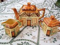 "Vintage ""Cottage Ware"". Keele Street Pottery Staffordshire."