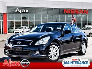 2013 Infiniti G37X Luxury*AWD*Accident Free