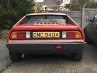Lancia montecarlo 1982 Right-hand drive