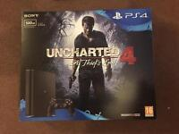 SEALED brand new PS4 slim 500gb with uncharted