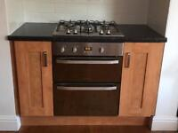 Hotpoint Double Electric Oven and Gas Hob
