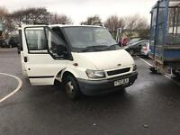 Ford transit crew cab tipper new fuel pump and timing chain !!!