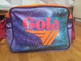 Mens Gola Satchel bag space design