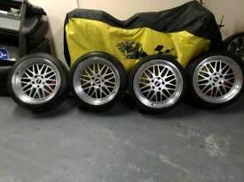 BMW 19inch BBS wheels 5x120
