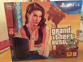 Playstation 4 slim ps4 500gb console grand theft auto