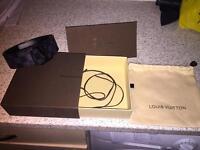 Authentic Louis Vuitton Belt Black £310 in stores