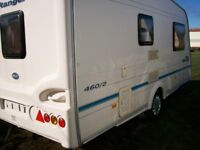 bailey ranger 2005 2 berth end washroom full awning motor mover immaculate condition