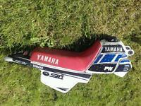 Spares Yamaha PW50 seat, back mid guard & Tank