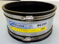 New !! Flexseal 265mm to 290mm Rubber Flexible Standard Drainage Couplings SC290