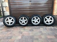 Winter wheel & tyre set for Peugeot 208 with top rated Continental Winter Contact TS 850 tyres