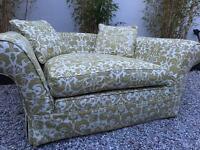 Handmade luxury Cuddle chair / Sofa, Was over £2000 new!