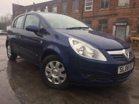 08 plate - Vauxhall corsa 1.3 diesel - 1 former keepers -6 months mot - service history