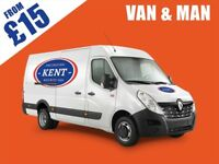 MAN WITH VAN - REMOVALS - FROM £15 - GUARANTEED CHEAPEST & FASTEST SERVICE
