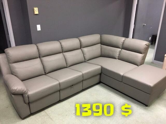 Grande liquidation salon sectionnel partir de 399 for Liquidation sofa sectionnel