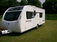 sterling eccles sport 2013 4 berth fixed single beds end on suite motor mover air awning