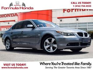 2005 BMW 5 Series 530i | HEATED SEATS | ACCIDENT FREE | LOW KM!
