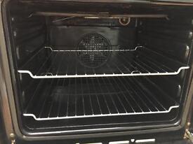 Built in/under oven.