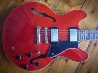 Cort Source Cherry Semi acoustic 335 guitar for sale