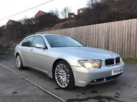BMW 730D SPORT 2004 +FULL MOT+ not 520d 530d Audi A6 a8 s320cdi