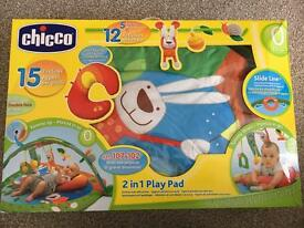Chicco baby gym/play mat and cot activity cover