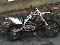 KXF 450 2008 rides mint cheap! £1750
