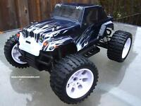 New RC Electric Monster Truck 1/10 Scale, 2.4G 4WD, Warranty