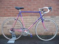 Classic 1980s Steel Raleigh Road Bike, Campagnolo, Shimano 600
