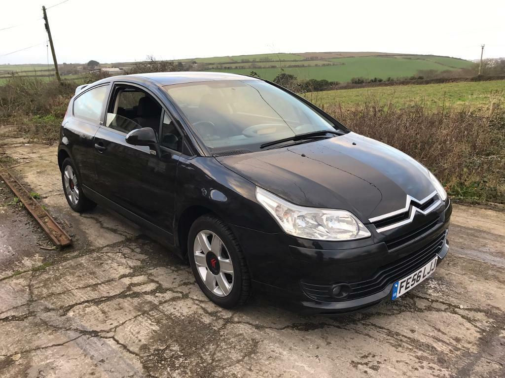 citroen c4 vtr couple black 1 6 16v 2006 in newquay cornwall gumtree. Black Bedroom Furniture Sets. Home Design Ideas