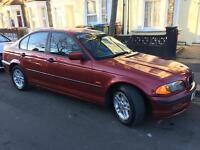 BMW 318 SE AUTO 2000 Petrol/LPG 78600 mileage